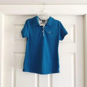 Girl's Burberry London Polo Shirt XL A29